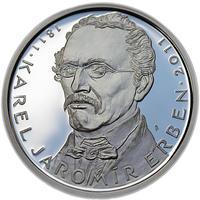 Mince ČNB - 2011 b.k. - 500 Kč Karel Jaromír Erben