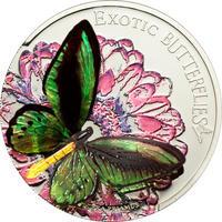 2012 Exotic Butterflies - Ornithoptera Priamus - Tokelau Ag 3D