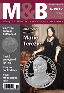časopis Mince a bankovky č.4 rok 2017