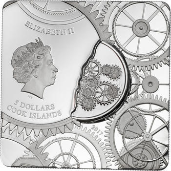 2017 Cook Islands - Time Capsule Coin - Ag - 1