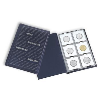 Album na mince kapesní - rámečkové POCKET K BL