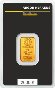 Argor-Heraeus SA 5 gram - 1