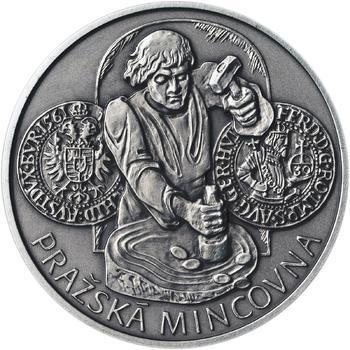 Pražská mincovna - stříbro malá patina - 1
