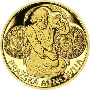 Pražská mincovna - zlato 1 Oz Proof - 1