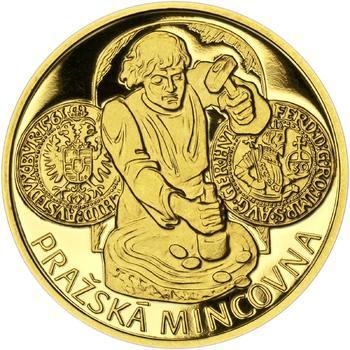 Pražská mincovna - zlato 1/2 Oz Proof - 1