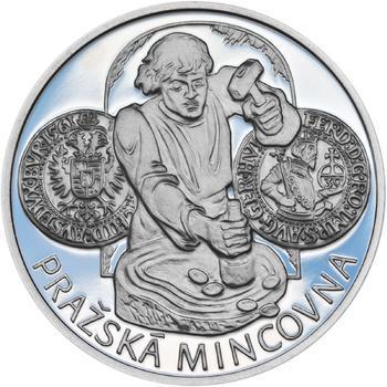 Pražská mincovna - stříbro malá Proof - 1