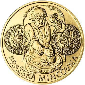 Pražská mincovna - zlato 1/2 Oz b.k. - 1