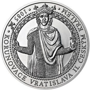 Korunovace Vratislava II. českým králem - stříbro b.k. - 1