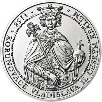 Korunovace Vladislava II. českým králem - stříbro b.k. - 1