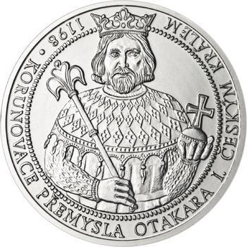 810 let od korunovace Přemysla Otakara I. českým králem - stříbro b.k. - 1