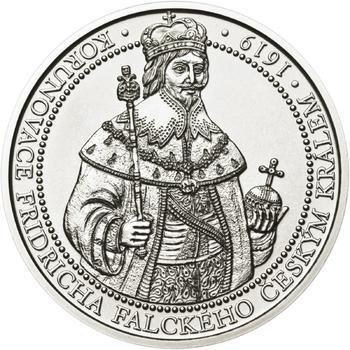 Korunovace Fridricha Falckého českým králem - stříbro b.k. - 1
