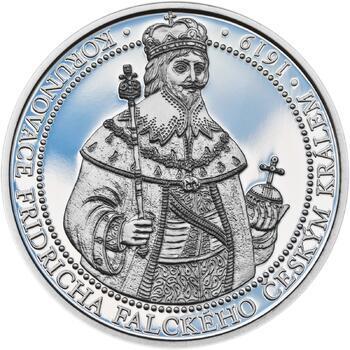 Korunovace Fridricha Falckého českým králem - stříbro Proof - 1