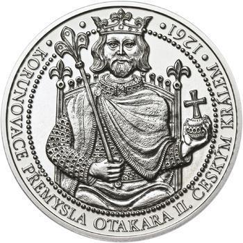 Korunovace Přemysla Otakara II. českým králem -  stříbro b.k. - 1