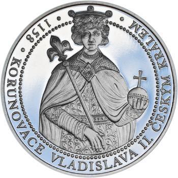 Korunovace Vladislava II. českým králem - stříbro Proof - 1