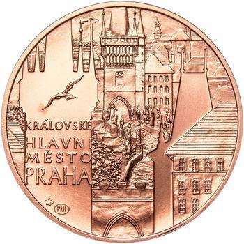 Královské hlavní město Praha - 1 Oz b.k. Měď - 1