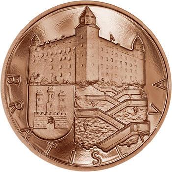 Bratislava -  1 Oz Měď b.k. - 1