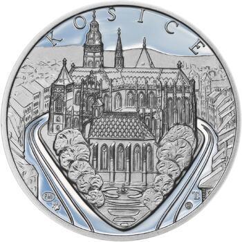 Košice - stříbro 1 Oz Proof - 1
