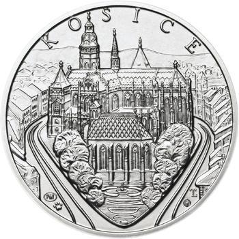 Košice - stříbro 1 Oz b.k. - 1