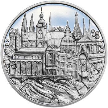 Praha - stříbro 1 Oz Proof - 1