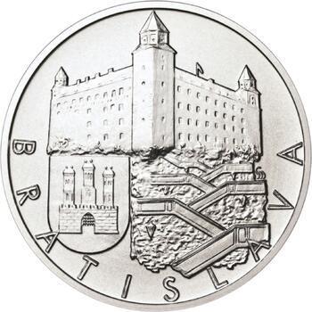 Bratislava - stříbro 1 Oz b.k. - 1