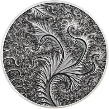 Fraktály I. - stříbro patina