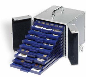 Kufřík na mincovní kazety MBS KOF 10 - 10 pozic