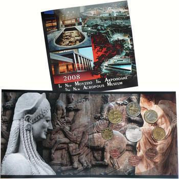 2008 Greece Mint Set - New Acropolis Museum