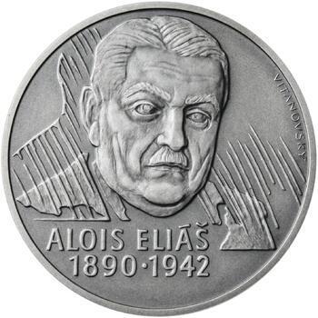 Alois Eliáš - 28 mm stříbro patina - 1