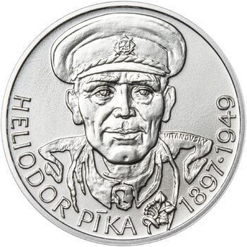 Heliodor Píka - stříbro 28 mm b.k. - 1