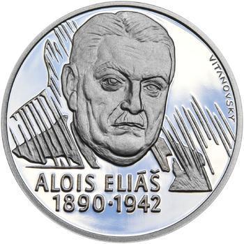 Alois Eliáš - 28 mm stříbro Proof - 1