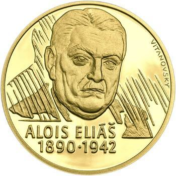 Alois Eliáš - 1/2 Oz zlato Proof - 1