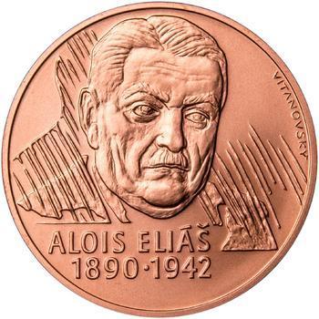 Alois Eliáš - 1 Oz Měď b.k. - 1