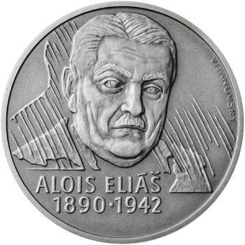 Alois Eliáš - 1 Oz stříbro patina - 1