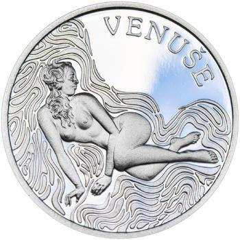 Venuše 25 mm stříbro Proof - 1