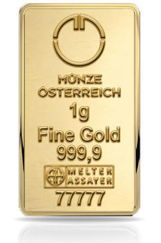 Münze Österreich 1 gram - 1