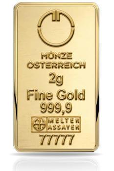 Münze Österreich 2 gram - 1