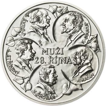 Muži 28. října - stříbro malá b.k. - 1