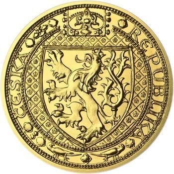 Lev a Orlice - zlato 1/2 Oz b.k. - 1