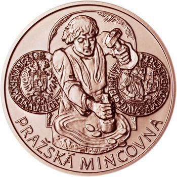 Pražská mincovna - Měď 1 Oz b.k. - 1