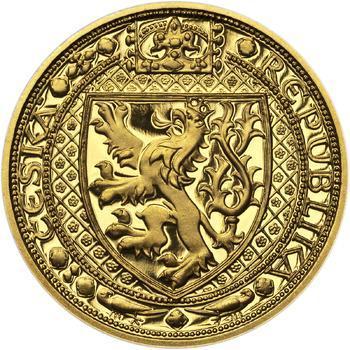 Lev a Orlice - zlato 1 Oz Proof - 1