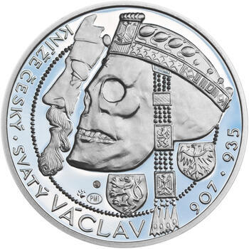 Relikvie Sv. Václava - vzor 1 - 1 Oz Ag Proof - 1