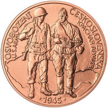 Osvobození Československa 8.5.1945 - 1 Oz Měď b.k. - 1