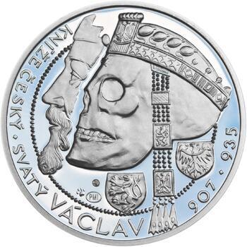 Relikvie Sv. Václava - vzor 1 - Ag malá Proof - 1