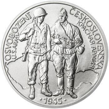 Osvobození Československa 8.5.1945 - 1 Oz stříbro b.k. - 1