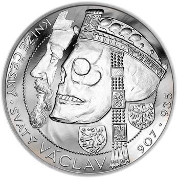 Relikvie Sv. Václava - vzor 1 - 1 Oz Ag b.k. - 1