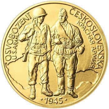 Osvobození Československa 8.5.1945 - 1 Oz zlato b.k. - 1