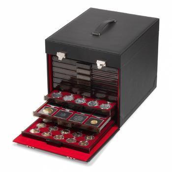 Mincovní koženkový kufřík - 1