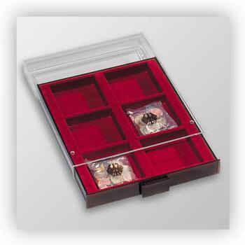 Mincovní kazeta 6 přihrádek MB XL 6 - 1