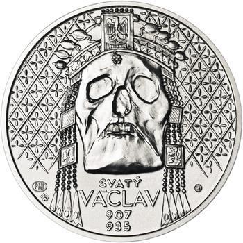 Relikvie Sv. Václava - vzor 2 - 1 Oz Ag b.k. - 1