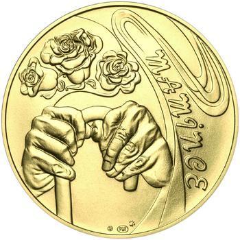 Mamince 25 mm zlato b.k. - 1